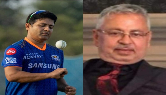 Cricketer piyush chawlas father
