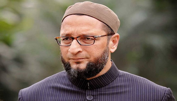 Owaisi tightened on bjp