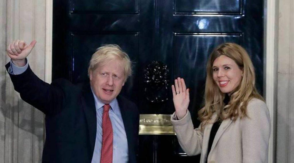 UK PM Boris Johnson marries