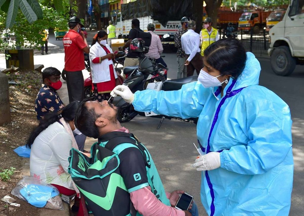 India reports lowest covid case