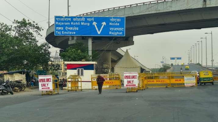 Delhi Covid lockdown
