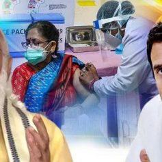 Rahul gandhi on vaccine charge