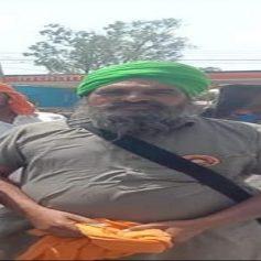 Farmers protest farmer death