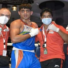 Sanjeet wins gold medal