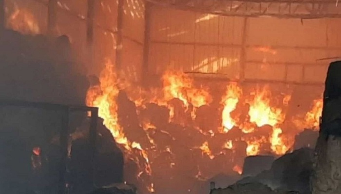 Blast in factory in palghar