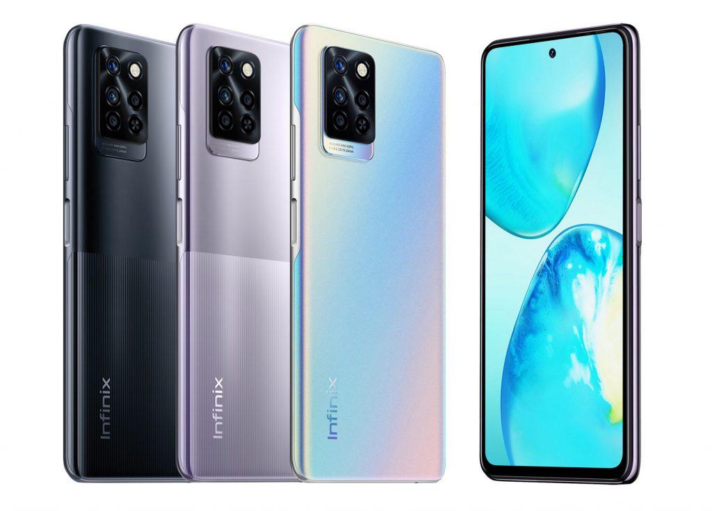 Infinix Note 10 smartphone