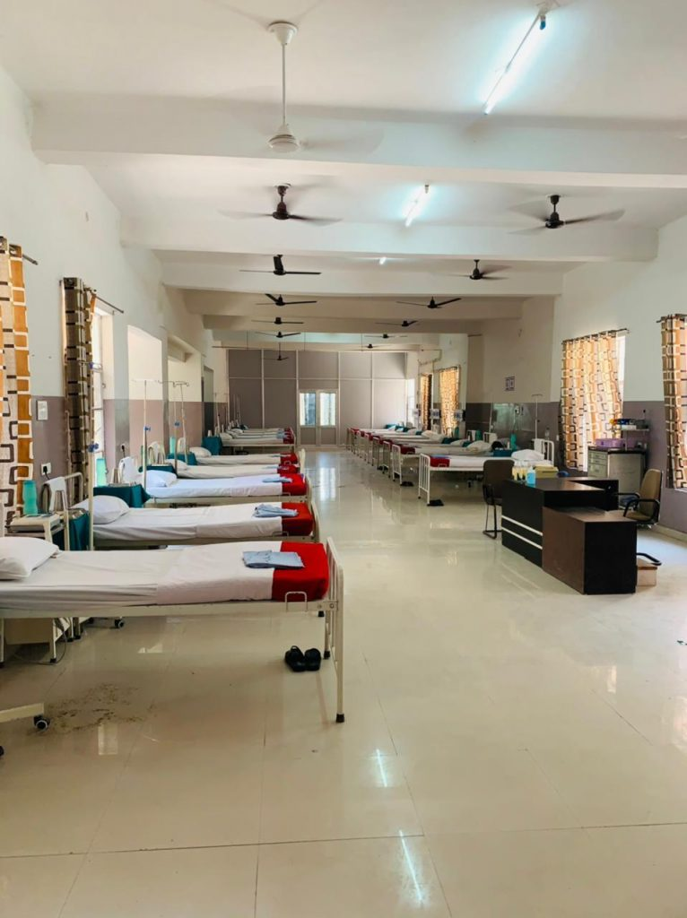 Army sets up covid hospital
