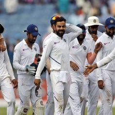 Indian cricket team depart