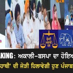 Akali BSP alliance