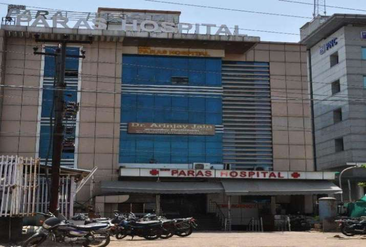 Agra paras hospital seized