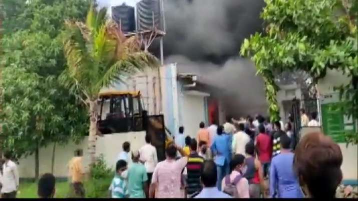 pune chemical plant fire