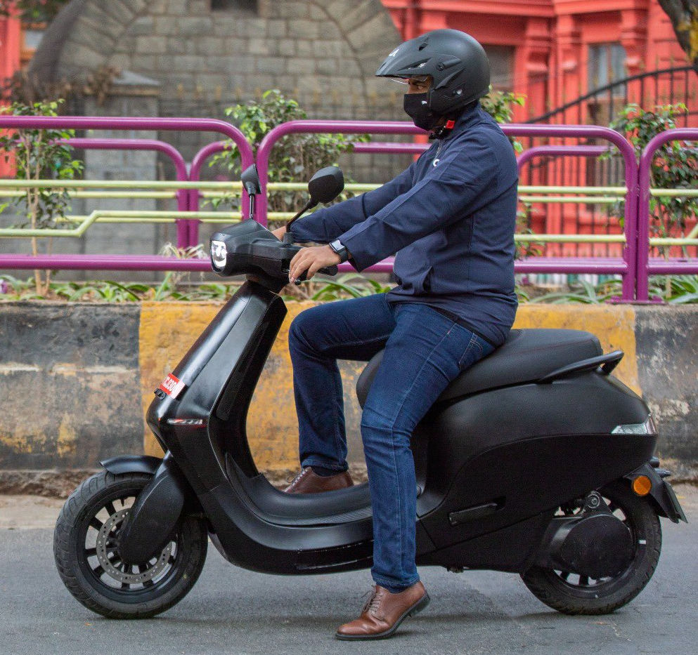 top speed of Ola Electric Scooter