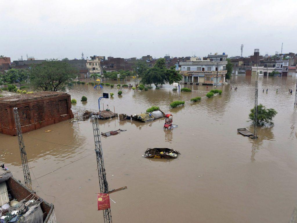 water level of Ghaggar