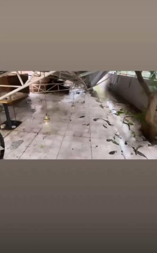kushal tandon restaurant damage