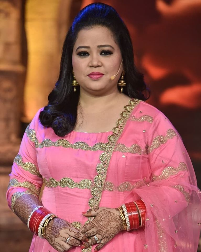 bharti singh inappropriately during