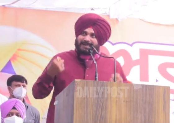 Punjab congress president Navjot sidhu