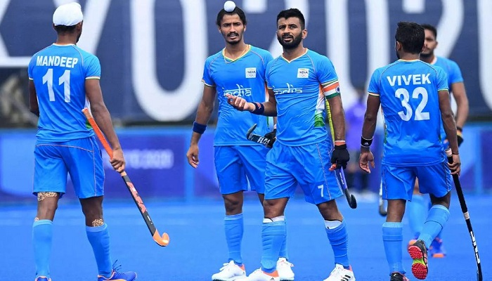indian mens hockey team defeated japan