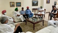 sidhu and cm capt official meeting