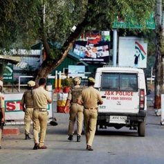 police arrested two bjp workers