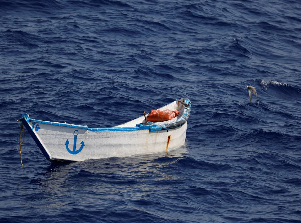 Migrant boat capsizes off Libya