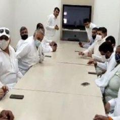 Haryana 19 mlas meet vivek bansal