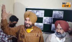 navjot sidhu in arrives jalandhar