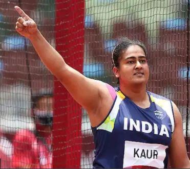 Kamalpreet Kaur showed strength