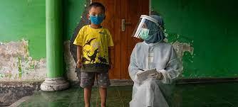 Indonesia child covid cases