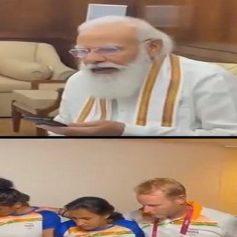 pm modi spoke to indian womens hockey