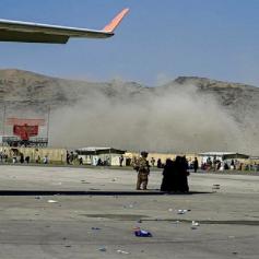 kabul blast afghanistan taliban