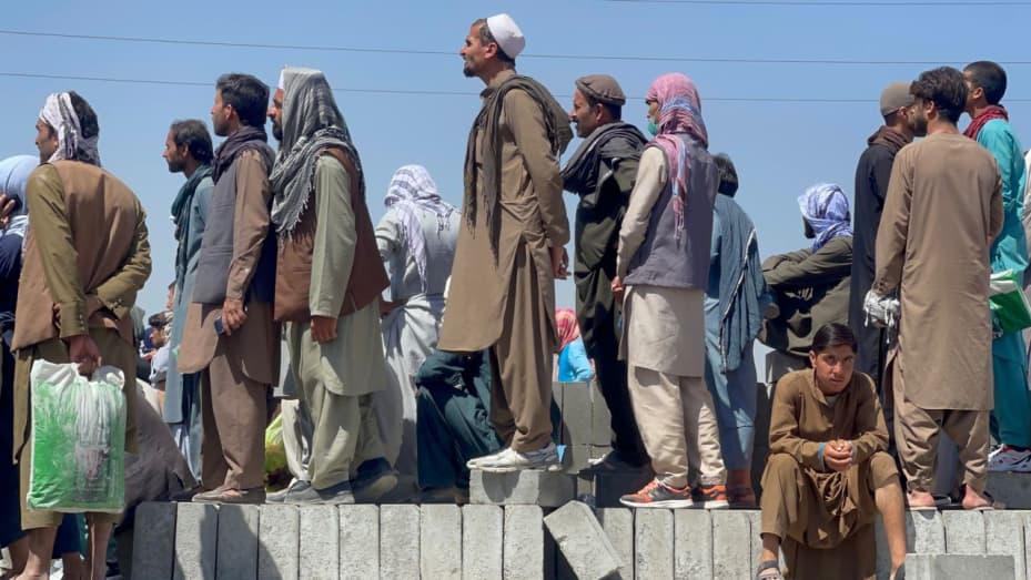 US statement on afghans