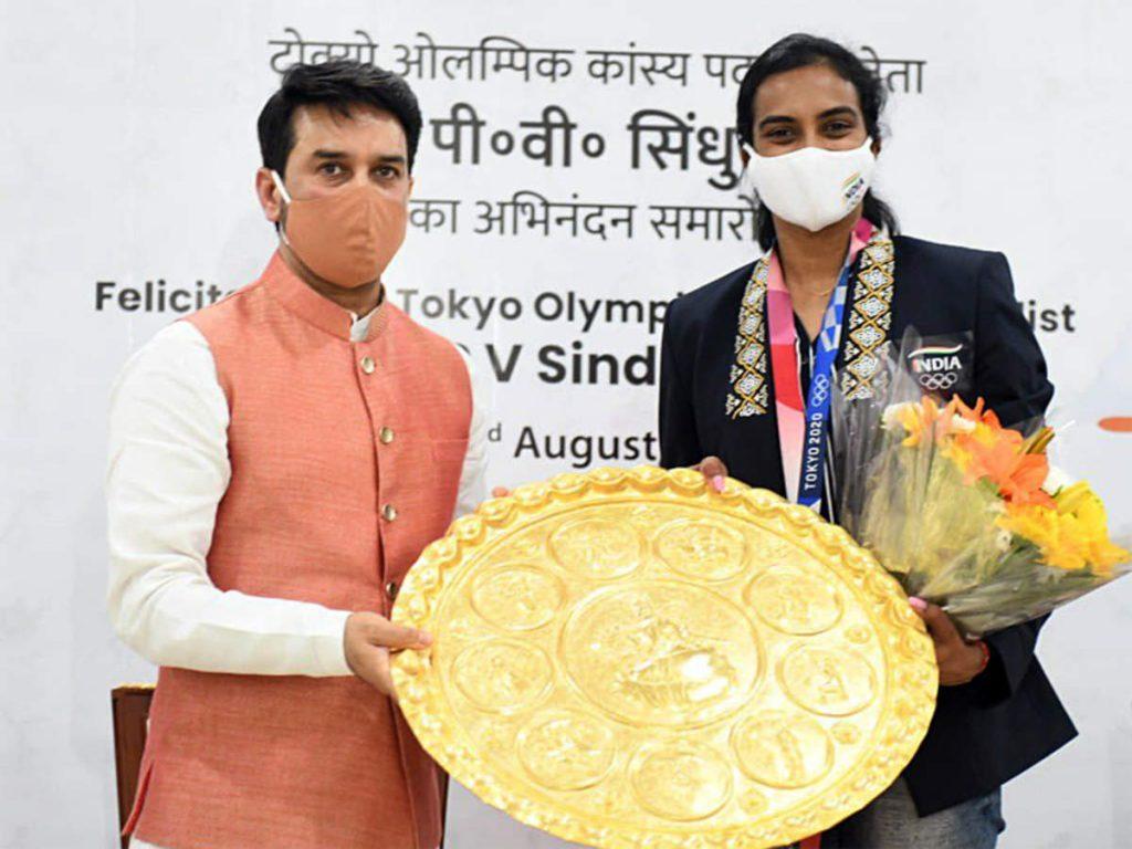 Tokyo Olympics bronze medallist PV Sindhu