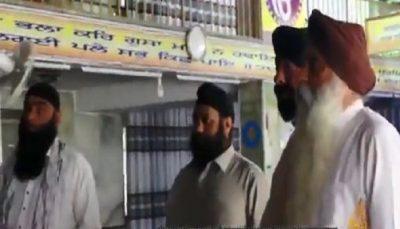 taliban came to the gurdwara