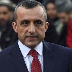 afghanistan amrullah saleh took