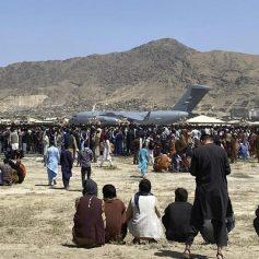 taliban afghans evacuation flights