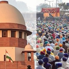 sc on farmers protest and bjp govt