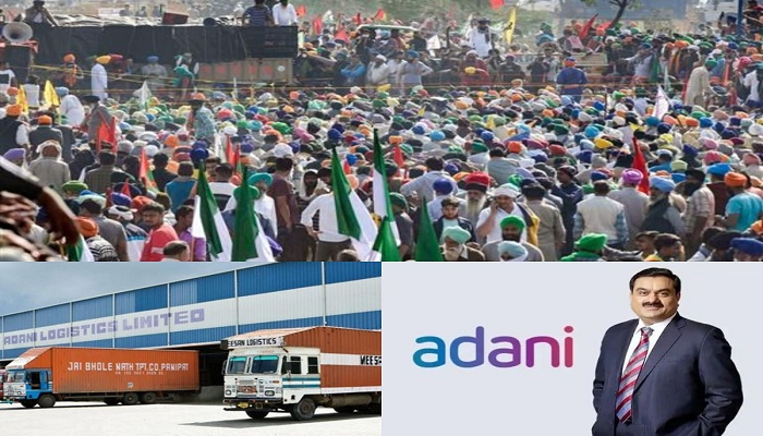 logistic park of adani group situated