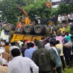 13 labourers killed in maharashtra buldhana