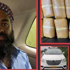 punjab police seized 16 kg heroin