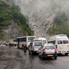chamoli rishikesh badrinath road landslide