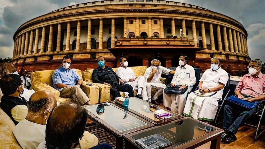 Rahul Gandhi breakfast meeting today