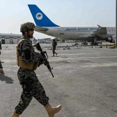 taliban captured kabul airport said