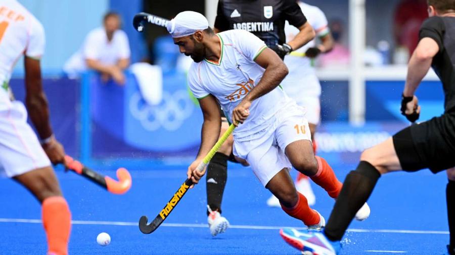 The Indian hockey team