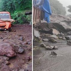 heavy landslide in maharashtra aurangabad