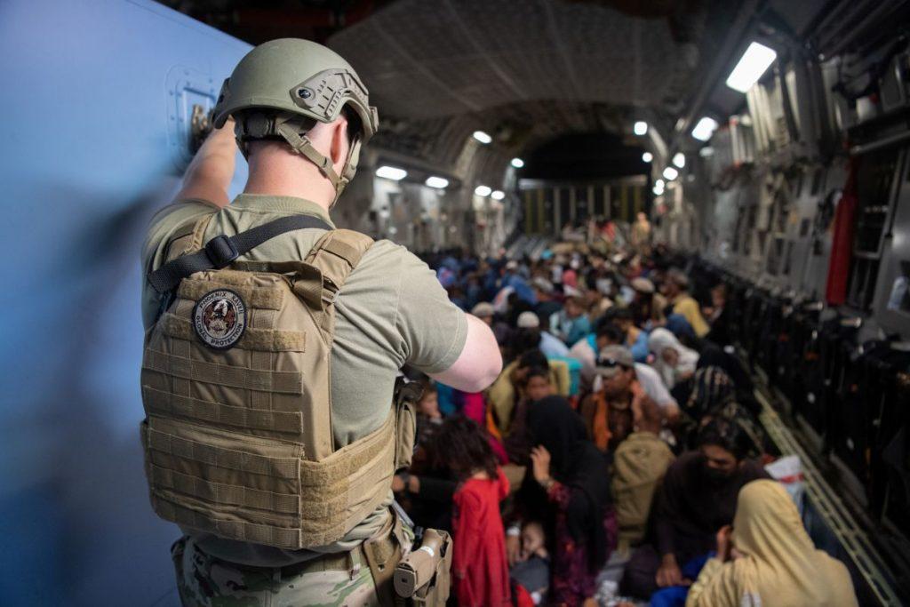 US evacuates about 2000 people