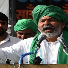 tikait says farmers conduct mahapanchayat