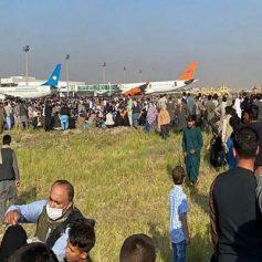 firing in kabul airport 5 killed