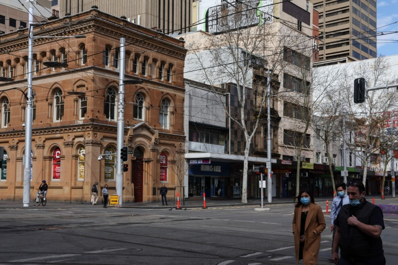 Covid lockdown extended in Australian capital