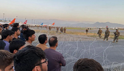 firing in kabul airport