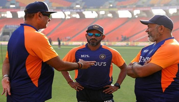 coach bharat arun and fielding